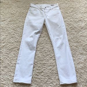 New Citizens of Humanity Amber White Bootcut Jeans